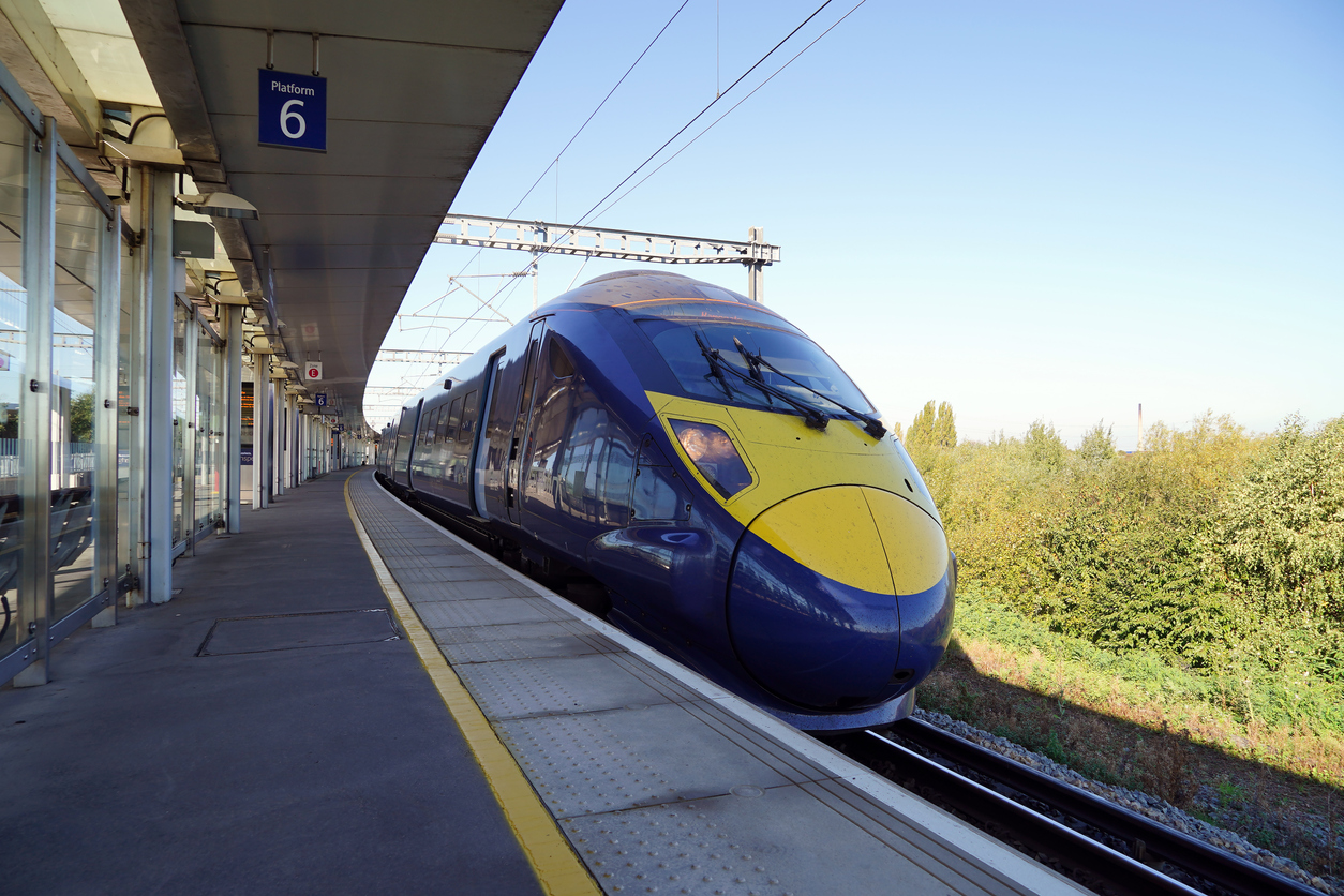UK current High-Speed Fleet runs south of London