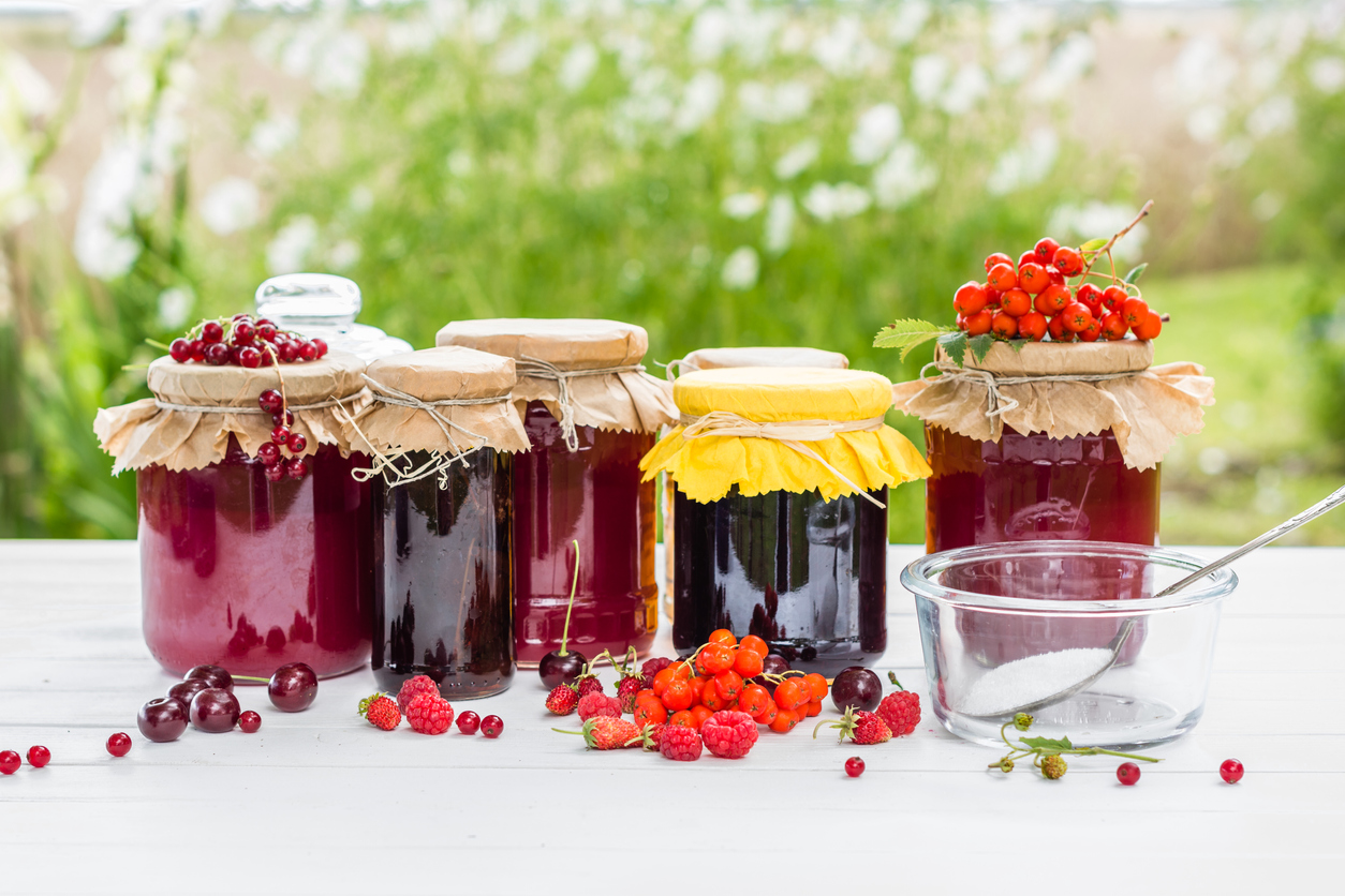 Jam making as a small business